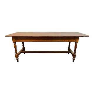 Early 20th Century French Monastery or Library Table For Sale