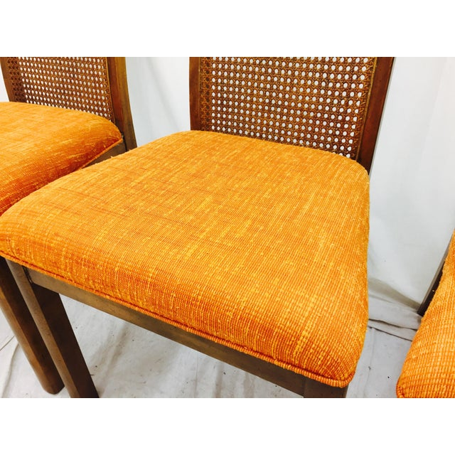 Vintage Dixie Mid-Century Dining Chairs - Set of 6 - Image 6 of 11