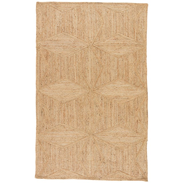 Jaipur Living Abel Geometric Beige Runner Rug - 2′6″ × 9′ For Sale