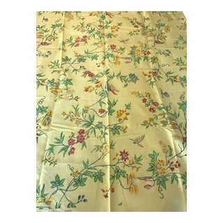 "Hand Printed Brunschwig & Fils ""Ayoko"" Fabric - 3 1/4 Yards For Sale"