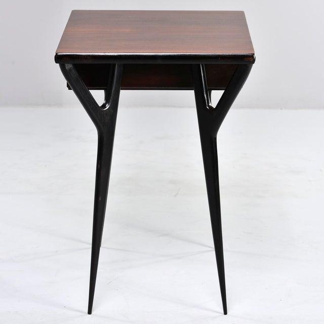 Small Mid Century Italian Desk For Sale - Image 9 of 12