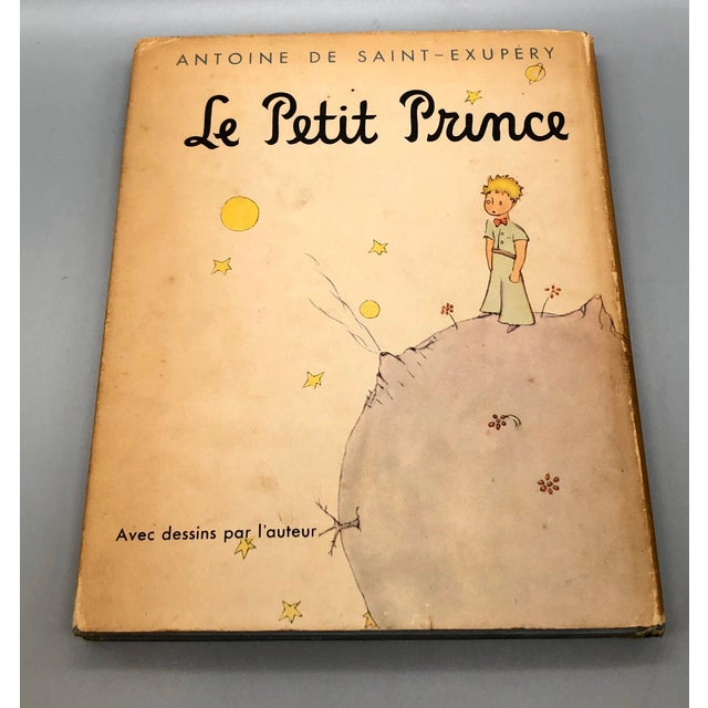 A very hard to find 1943 French edition of the childhood classic The Little Prince, published by Reynal & Hitchcock, New...