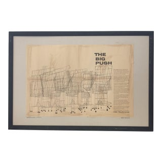 Framed Ben Shahn Add Print