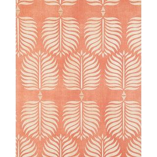 Serena & Lily Burnt Orange/Sand Granada Wallpaper For Sale