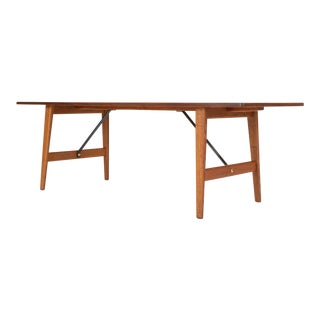 Børge Mogensen Teak and Oak Coffee Table for Fredericia Stolefabrik For Sale
