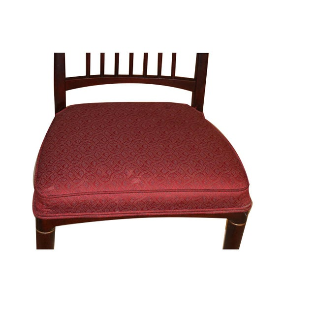 6 Svante Skogh Rosewood Cortina Dining Chairs For Sale - Image 9 of 13