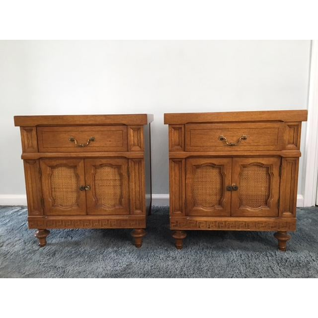 Daniel Jones Vintage Bedroom Nightstands - A Pair - Image 2 of 5