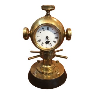 Late 19th Century Nautical Novelty Clock For Sale