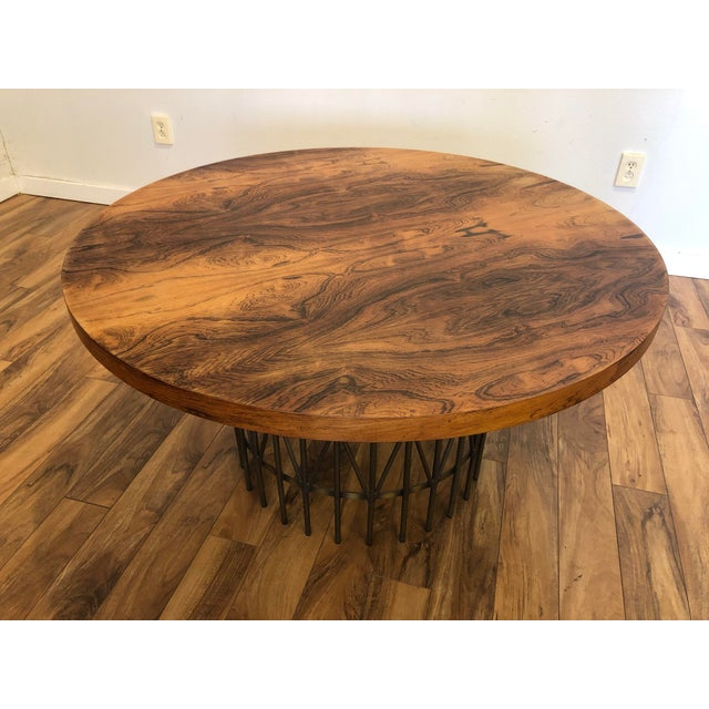 Milo Baughman Thayer Coggin Rosewood Entry Table For Sale - Image 9 of 9
