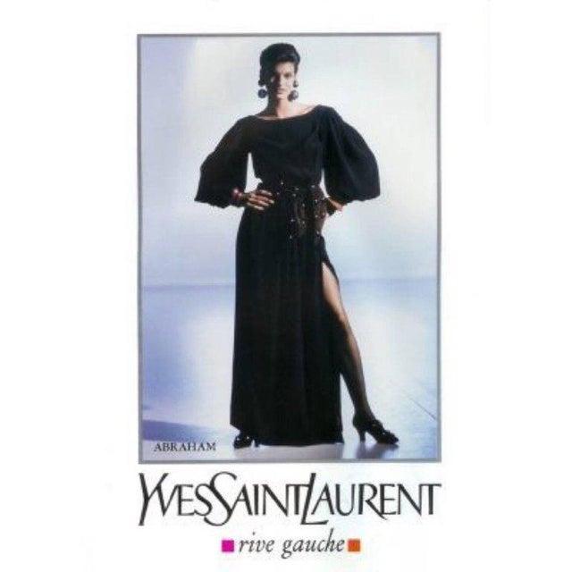 Metal 1980s Yves Saint Laurent Red Leather Gold Stud Sash Belt For Sale - Image 7 of 9