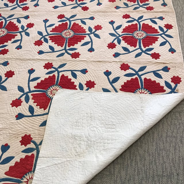 Vintage American Classic Quilt - Image 8 of 9