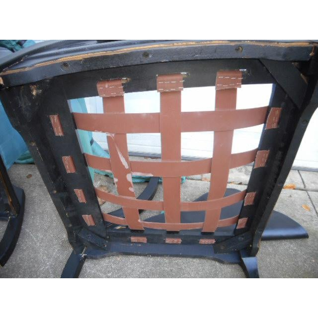 James Mont Style Asian Lounge Chairs - A Pair For Sale - Image 9 of 11