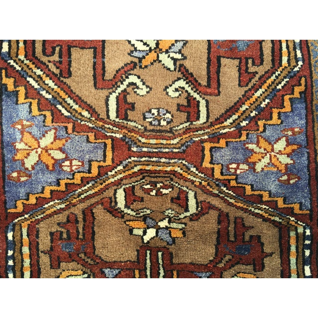 Thick and Heavy and Hearty Persian Kourdish Rug - 3′5″ × 6′5″ - Image 5 of 9