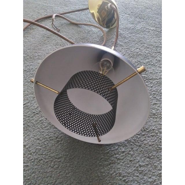 Mid-Century Modern 1950s Gerald Thurston for Lightolier Cone Shape Pendant Light For Sale - Image 3 of 13
