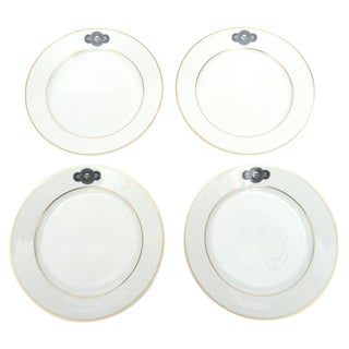 Medusa Porcelain Fornasetti & Rosenthal Desert/ Salad Plates - Set of 4 For Sale