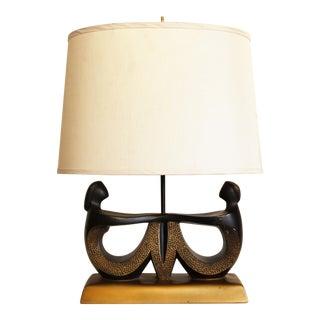 Vintage Faip Mid-Century Modern Figural Table Lamp