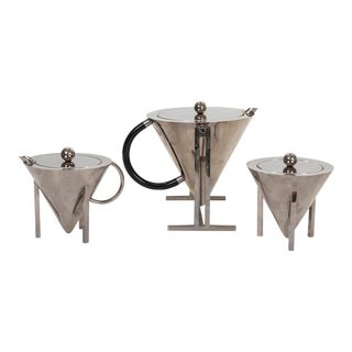 Memphis Style Coffee Set. Montagnani L&c Firenze For Sale