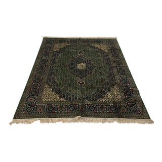 "Contemporary Sculpted Wool Area Rug - 28"" X 28"""