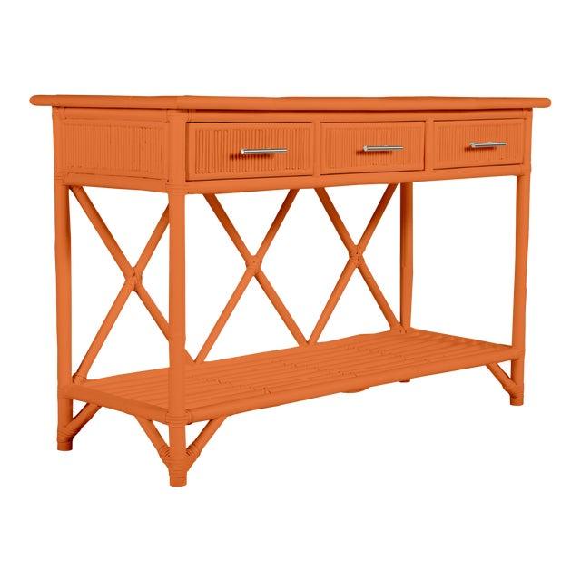 Aruba Sideboard - Orange For Sale