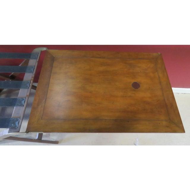 Baker Mahogany Butler's Convertible Buffet Table - Image 6 of 6