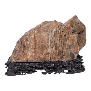 Jiulongbi Mountain Chinese Meditation Stone For Sale