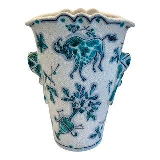 1960s Italian Fratelli Fanciullacci Style Vase For Sale