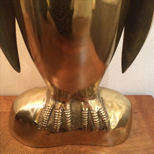 Ethan Allen Brass Penguin - Image 7 of 8