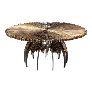 Brutalist Style Pulau Cocktail Table For Sale