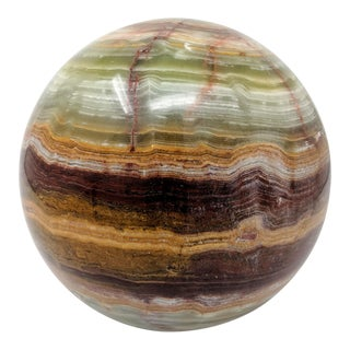 Solid Onyx Sphere