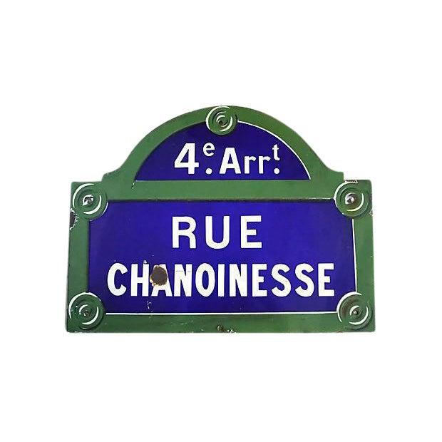 Paris - 4th Arrondissement Street Sign - Image 1 of 2