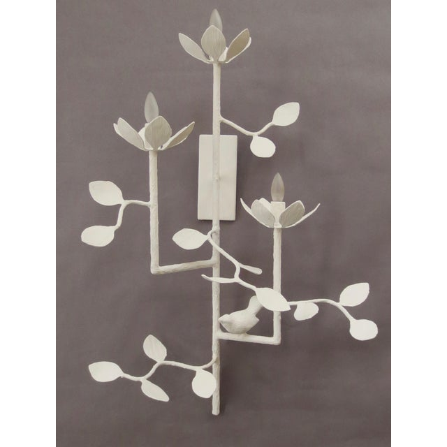 Not Yet Made - Made To Order Plaster Garden Sconce For Sale - Image 5 of 7