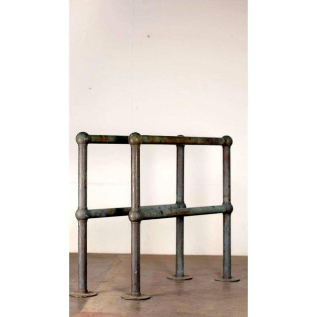 Mid Century Bronze Architectural Railings - a Pair For Sale - Image 10 of 10