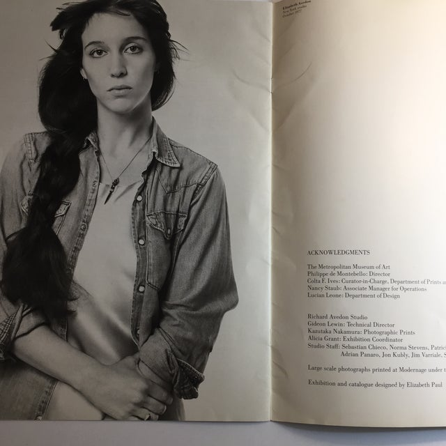 Figurative 1977 Avedon Photographs 1947-1977 Book For Sale - Image 3 of 8