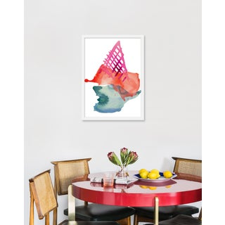 """Medium """"Strawberry Cone"""" Print by Kate Roebuck, 18"""" X 25"""" Preview"""