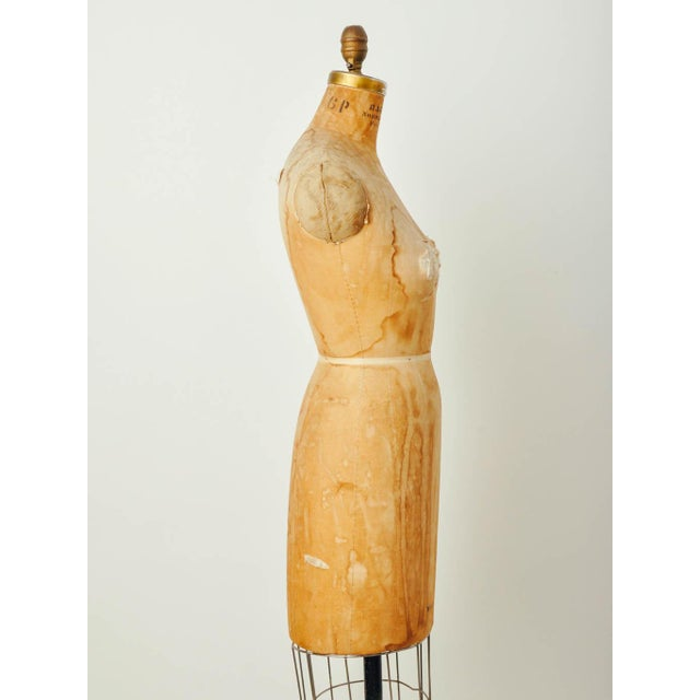 Vintage Bauman Model Dress Form Ladies Mannequin - Image 5 of 8