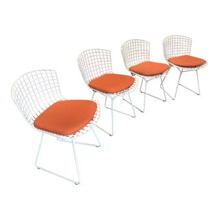 Vintage Mid-Century Bertoia for Knoll Side Chairs - Set of 4