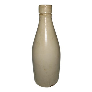 Antique Scottish Barrowfield Pottery Ginger Beer Bottle For Sale