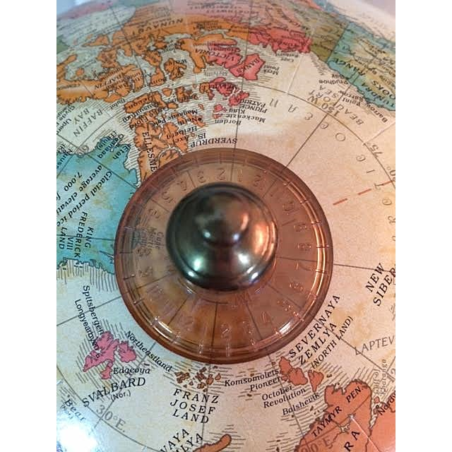 Brass Replogle World Classic Series Globe For Sale - Image 7 of 9