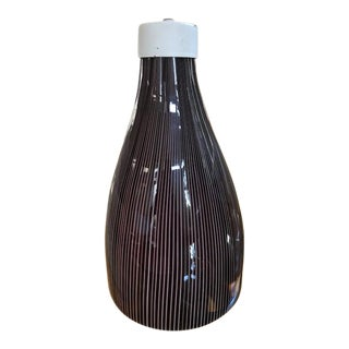 Murano Venini Art Glass Hanging Lamp
