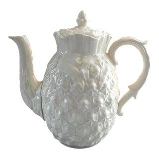 Spode Creamware Pineapple Teapot