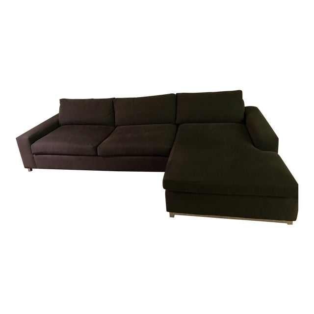 Room & Board Klein Sectional Sofa with Right-Arm Chaise For Sale