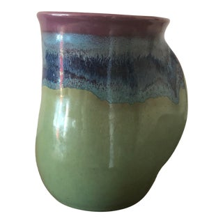 Contemporary Hand Thrown Pottery Mug For Sale