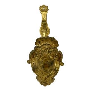 Napoleon III Bronze Dorè Curtain Tie Back For Sale