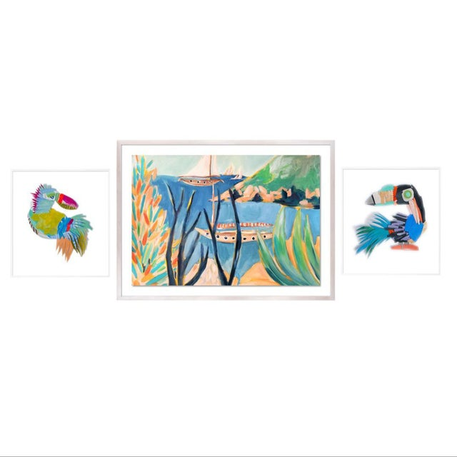 Bird's Eye Gallery Wall, Set of 3 For Sale - Image 9 of 9