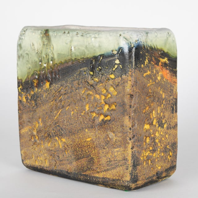 1960s Rectangular Vase by Marcello Fantoni For Sale In New York - Image 6 of 13