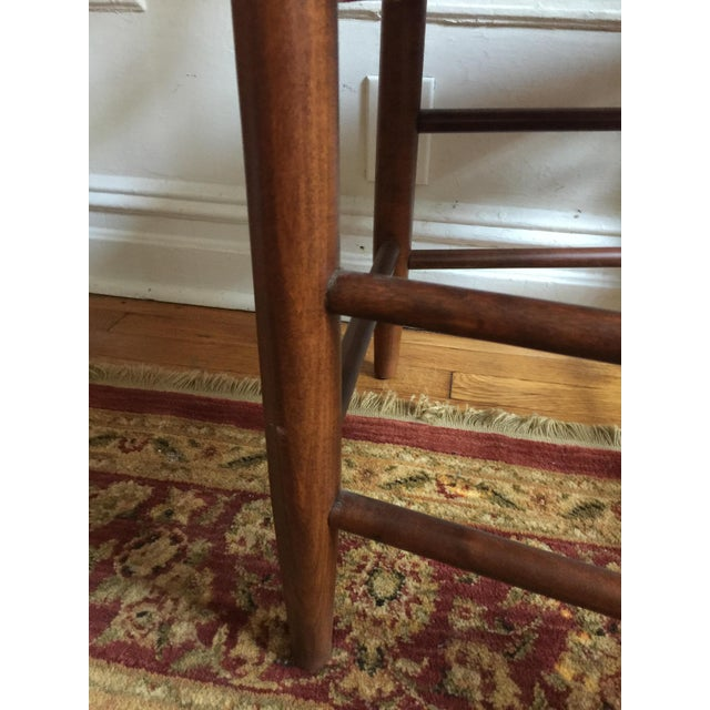 Mid 20th Century 20th Century Shaker Style Ladderback Side Chair For Sale - Image 5 of 7