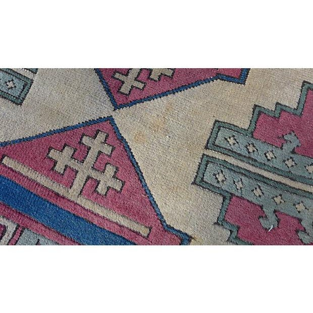 Turkish Hand-Knotted Wool Rug - 6′5″ × 4′3″ - Image 2 of 6