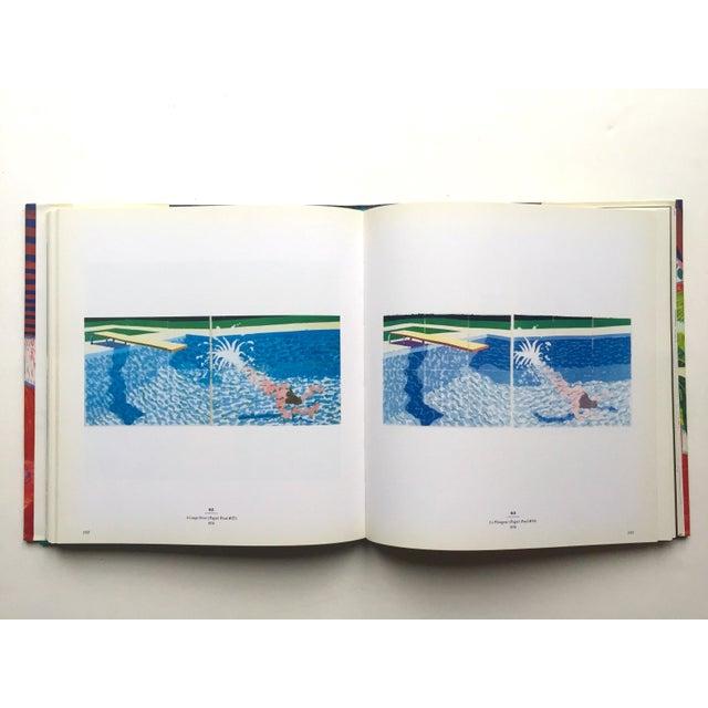 """ David Hockney a Retrospective "" 1st Edtn Vintage 1988 Collector's Hardcover Art Exhibition Book For Sale - Image 10 of 12"