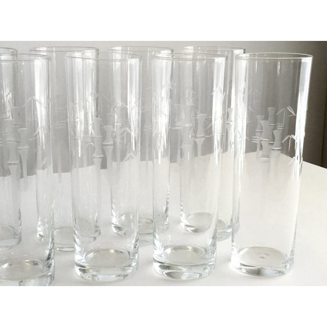 Noritake Bamboo Iced Tea Glasses - Set of 10 - Image 4 of 5
