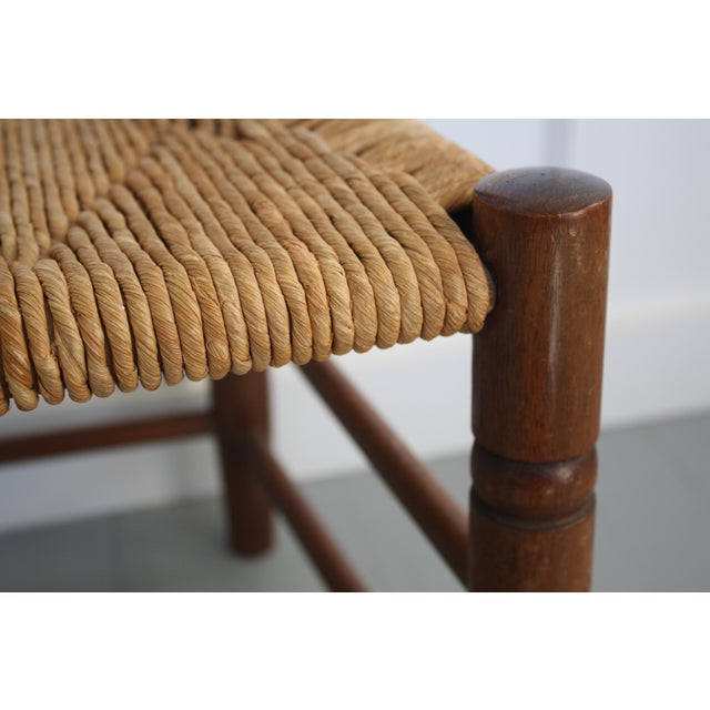Antique Rush Seat Chairs - A Pair - Image 8 of 11